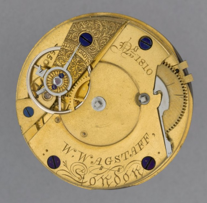 Example of a British Watch and Clockmakers watch sold by the retailer William Wagstaff