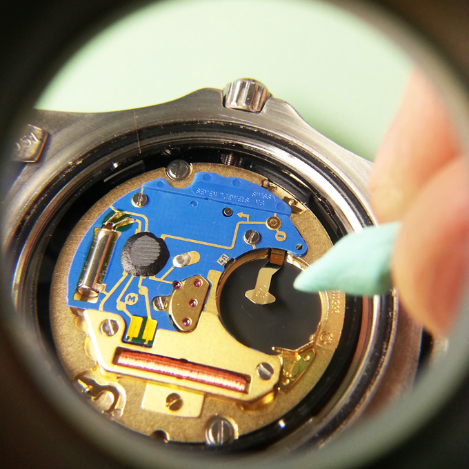How To Clean A Watch Battery Leak Great British Watch Company
