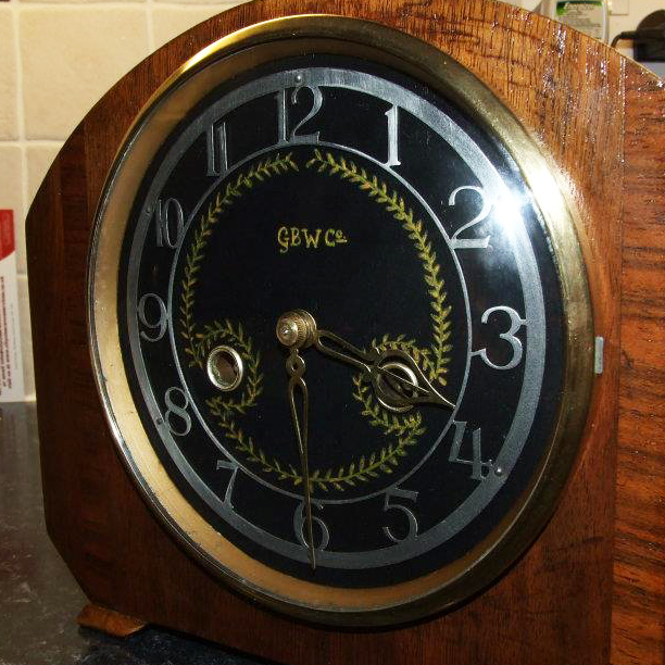 GBW Branded Clock