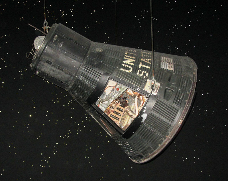 "Famous test pilot Chuck Yeager called the astronauts ""Spam in a can"""